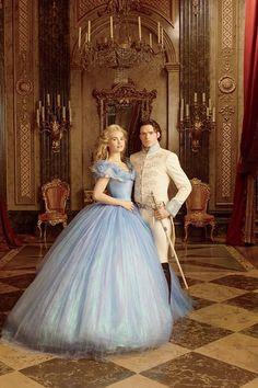 A Cinderella Story, Cinderella Dresses, Princess Wedding Dresses, Dream Wedding Dresses, Cinderella 2015, Cinderella Prince, Cinderella Carriage, Rapunzel, Pinturas Disney