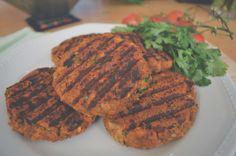 Vegan Meal Prep, Vegan Vegetarian, Vegetarian Recipes, Healthy Recipes, Vege Burgers, Homemade Burgers, Food Crafts, What To Cook, Plant Based Diet