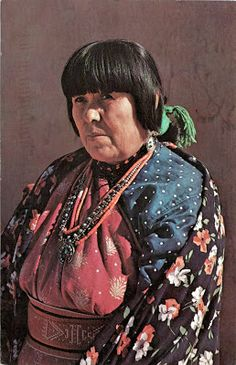 UNITED STATES (New Mexico) - A Puebloan woman