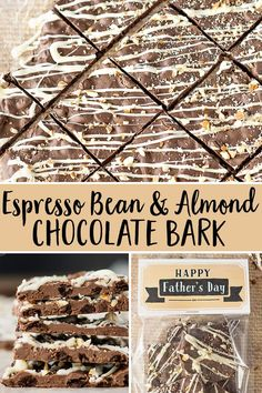 chocolate covered coffee beans This Espresso Bean Chocolate Bark is the perfect treat for anyone who loves coffee and chocolate! (great for fathers day too - be sure to pr Chocolate Covered Espresso Beans, Bulk Chocolate, Chocolate Espresso, Chocolate Bark, Homemade Chocolate, Almond Chocolate, Organic Coffee Beans, Fair Trade Coffee, Easy Coffee