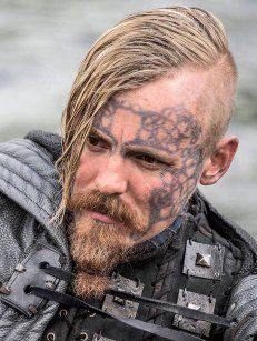 Jasper Pääkkönen as Halfdan The Black, Vikings
