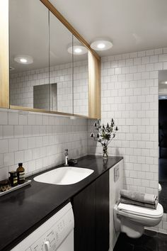 nice bathroom...small but has it all!