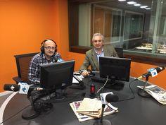 """Antonio Banda, CEO de Feelcapital, junto al periodista económico Manuel Tortajada en el programa Visión Global de Radio Intereconomía: """"Si hay predisposición del banco los clientes tendrán las carteras que necesitan"""" #FondosDeInversión (15 de abril de 2015)."""