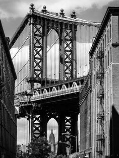 "Manhattan Bridge - Study 2 - 12""x16"""