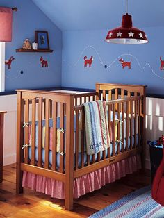 "From The Bump: ""Baby Boy Nurseries"" http://pregnant.thebump.com/pregnancy/nursery-ideas/slideshow/baby-boy-nurseries https://itunes.apple.com/us/app/id568940747?mt=8"