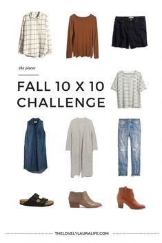 10 x 10 Fall Challenge: Pieces – The Lovely Laura Life