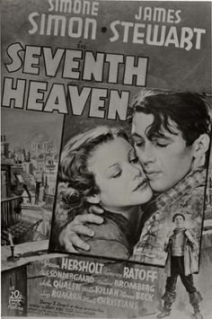 """Seventh Heaven"" (1937). Movie Poster."