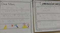 Little Minds at Work: Persuasive Writing {freebie}