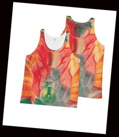 Lienna our very special abstract art design on this wonderful Top ! Check it out at https://www.zazzle.com/lienna_all_over_print_tank_top-256056930659850455 or visit https://www.zazzle.com/angelsgreen for more awesome items.