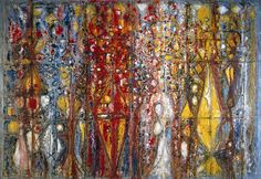 the fashion complex - Blood Wedding, Richard Pousette-Dart, 1958 Abstract Expressionism, Abstract Art, Abstract Paintings, Frank Stella, Action Painting, New York Art, Art Database, Tag Art, American Artists