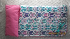 READY to SHIP NOW Boutique Butterfly Sleeping Bag will fit 18 inch American Girl Dolls, birthday party by JMagaClothing on Etsy