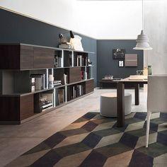 Ideal Schlichte Eleganz bringt das Novamobili Regal mit seinem geradlinigen Design in jedes Zimmer Esszimmer