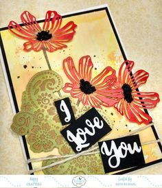 Hello to all !!! Welcome to the ECD blog!!! This is Anita here. Card making can be such a relaxing hobby and especially if you have beautiful dies from Elizabeth Craft Designs to beautify your projects. A huge range of craft dies has been released this month and I must say all of them are awesome !!!! You can check them out here. For my card today, I have created a vibrant background using the ever popular Distress Oxide inks and have combined the poppies with a lace die. The vibrant and the…