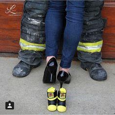 Fire family pregnancy announcement