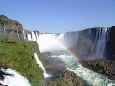 This is simply gorgeous: Iguazu Falls in Argentina! God Reveals Himself in His Creation by Randy Alcorn World Most Beautiful Place, Beautiful Places To Visit, Beautiful Scenery, Ushuaia, Places To Travel, Places To See, Chile, Flora Und Fauna, Iguazu Falls