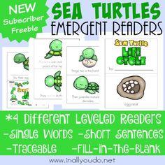 Sea Turtles Emergent Readers