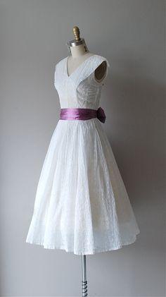 1950s Bright Eyelet dress || http://www.etsy.com/listing/98943153/1950s-dress-eyelet-50s-dress-bright      #vintage #etsy