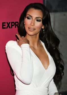 Kim K. #Hair #Makeup my number one style icon always looks flawless #myinspiration