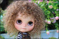 OOAK Custom Blythe muñeca y modificado para por Thehandflower