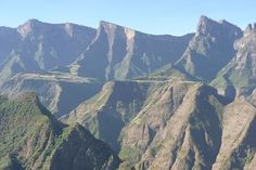 Rows of peaks in the Simien Mountains - we can't wait to welcome you to enjoy them at Limalimo Lodge! Photo courtesy of glancingshot.london for limalimlodge.com