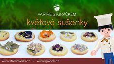 Pojďte si s Igráčkem upéct rozkvetlé sušenky. :-) Cheesecake, Muffin, Breakfast, Desserts, Food, Morning Coffee, Tailgate Desserts, Deserts, Cheesecakes