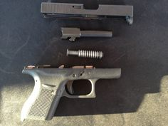 Pics of the Glock 41 and 42 from the 2014 SHOT Show Range Day