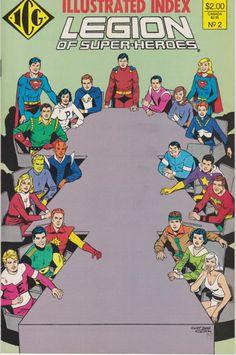 Legion of Super-Heroes #354 FN 1987 Stock Image