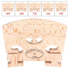 Sales IRIN NEW Maple Violin Bridge Regular Type For 1/8 & 1/4 & 1/2 & 3/4 or 4/4 Optional Size #clothing,#shoes,#jewelry,#women,#men,#hats,#watches,#belts,#fashion,#style