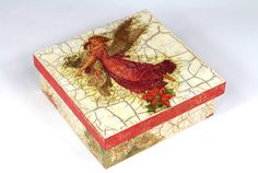 caixa mdf craquele Rooster, Decorative Boxes, Crafts, Painting, Home Decor, Decoupage Ideas, Stencil, Internet, Glitter