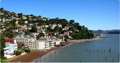 Just across the Golden Gate - City of Sausalito - great art studios and restaurants! Best Places To Travel, Cool Places To Visit, Great Places, Places Ive Been, Places To Go, Beautiful Places, California City, Sausalito California, Gate City