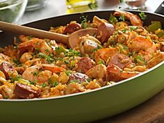 Bring Louisiana Cooking Home: Chicken, Sausage & Shrimp Skillet [Recipe]