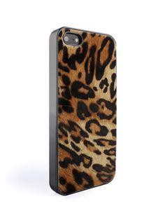 WCONCEPT:W컨셉 - [Gaze:게이즈] iPhone 5/5s Back cover Calf Leopard