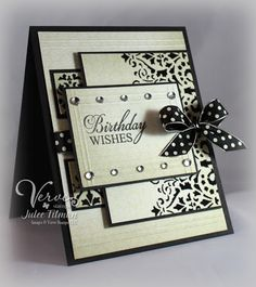 Birthday Wishes (Black & Cream) - Poetic Artistry