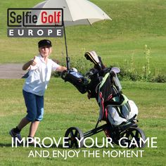 We are golf enthusiasts who are always trying to find ways to improve our game.   SelfieGOLF Golf Swing Training Analyzer provides a steady and convenient golf swing recording system by letting you clip your mobile phone on your golf bag! You can capture stable footage, playback and review your swings as many times as you need until you see every detail you need to improve!  No more struggling with tripods and cameras or the need to ask other players in the course to record your swing! Swings, Golf Bags, Cameras, Baby Strollers, Training, Times, Detail, Phone, Children