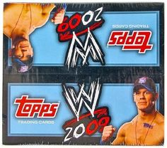 2009 Topps WWE Wrestling 24-Pack Box by WWE. $24.95. WWE 2009 takes a bold new direction by presenting Superstars and Divas in the designs, packaging and inserts of Topps' flagship Baseball Card brand. Each premium foil-stamped card back features text written by WWE announcer Jim Ross. In addition, a special subset features the thrilling highlights of Wrestlemania 25! WWE 2009 is jam-packed with multiple levels of super-collectible inserts: - AUTOGRAPHS (TBD) - Signed...