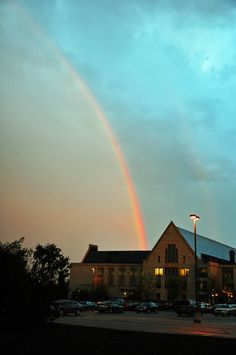You'll find St. Olaf College at the end of the rainbow.
