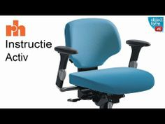 Bureaustoel werkstoel RH Activ Instructie video - YouTube  www.objectform.nl