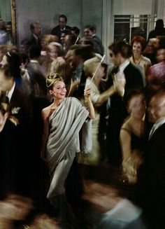 Audrey Hepburn as Holly Golightly in Breakfast at Tiffany's photographed by Howell Conant, 1961