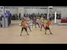 "Zumba Kids with Yana - ""Hafanana"" - YouTube"