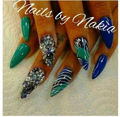 Love these Stiletto Nails