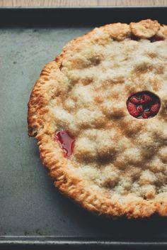 Raspberry pie! via @Matt Valk Chuah Roaming Kitchen