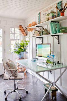 Ojai Home Office | The Polished Pebble