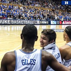 Harry Giles and Grayson Allen