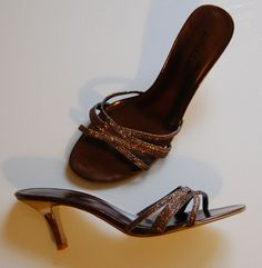 Slide Sandal - Bronze