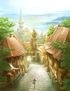There's a place, in my Mind's Eye, where my Inner Child dwells ~ and that place, looks just like this ...
