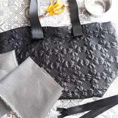 #newproject #bigbag #black #mmstudiobag #sewing #blackandwhite