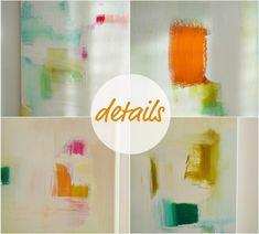 DIY painting // make your own art