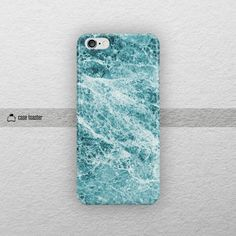 Blue marble iphone 6S case 4.7 iphone 6S plus case by CaseToaster