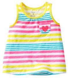 715d2871e3204 Carters Girls Toddler Stripe Pocket Tank Top  6.99 (save  4.01) Carters  Baby Girl