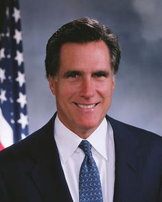 Official Portrait of Mitt Romney